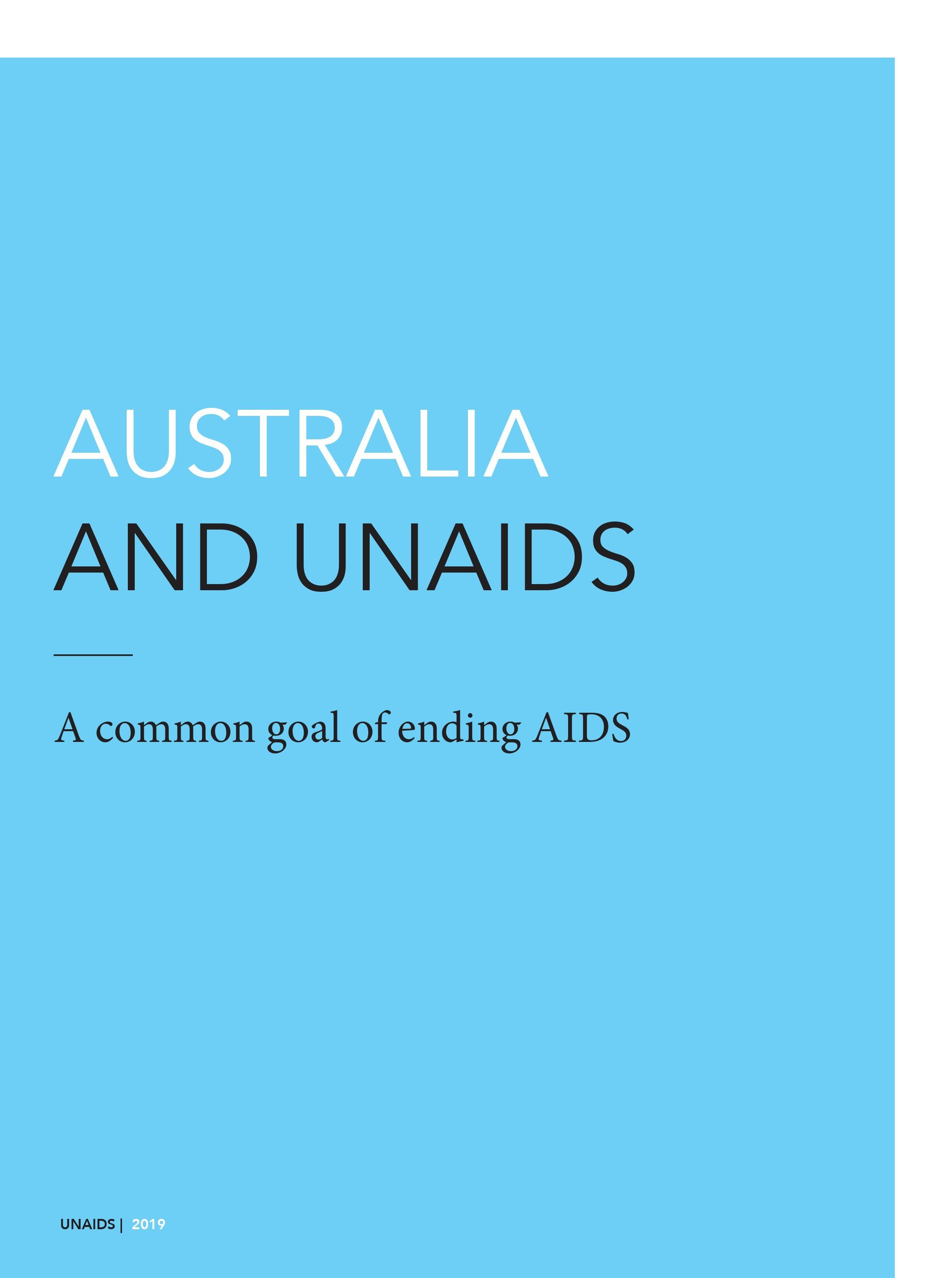Australia and UNAIDS