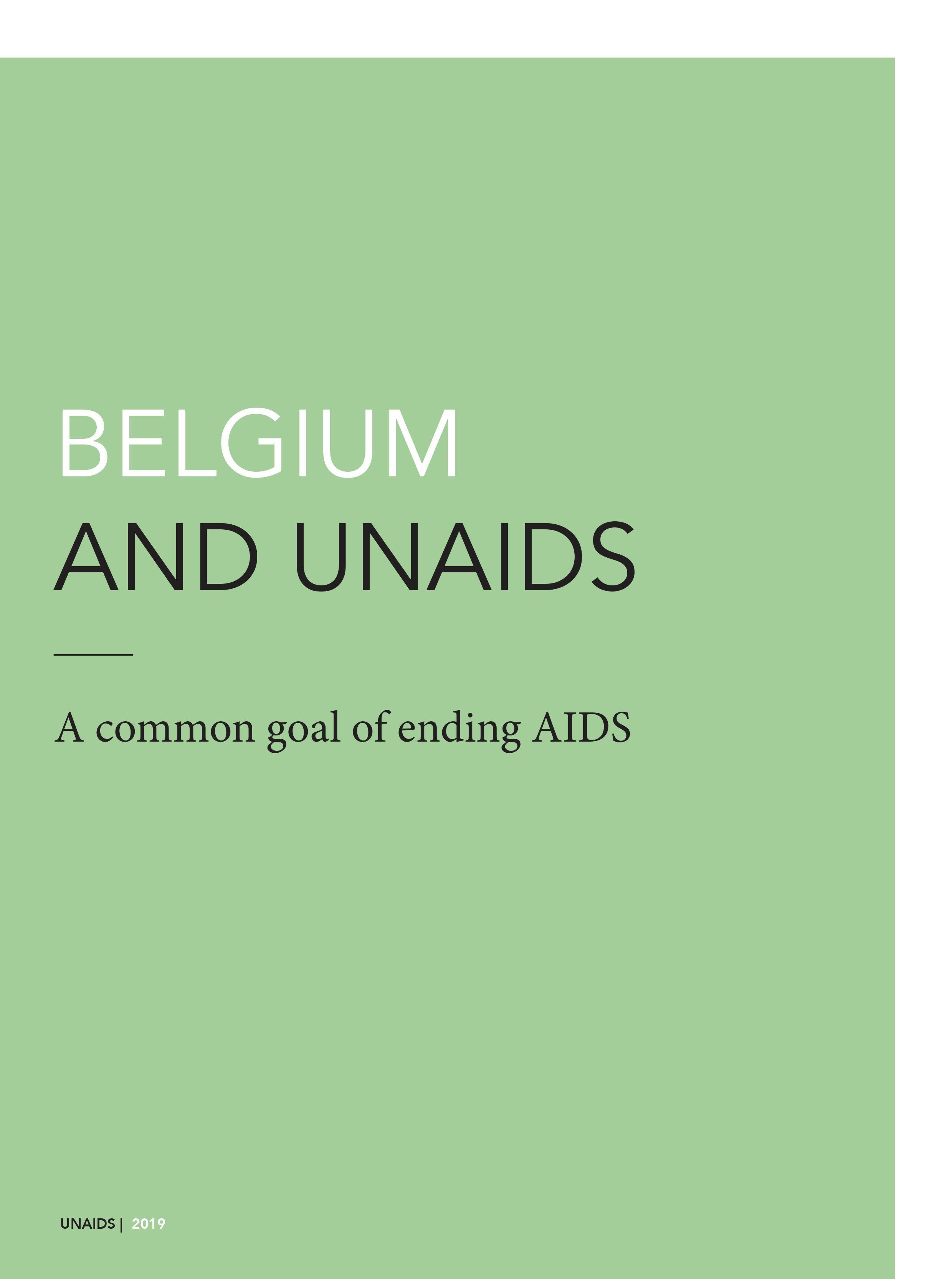 Belgium and UNAIDS