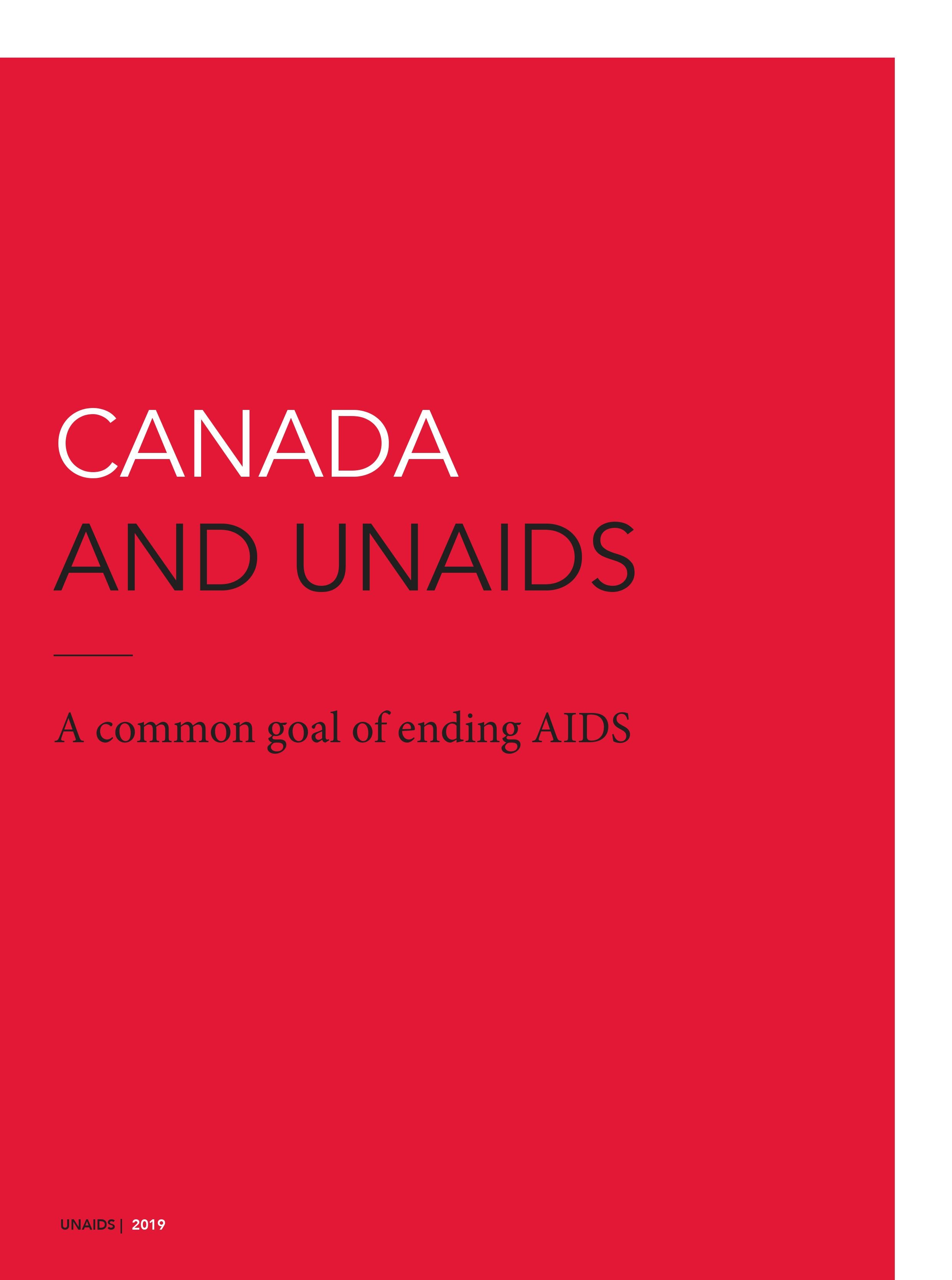 Canada and UNAIDS