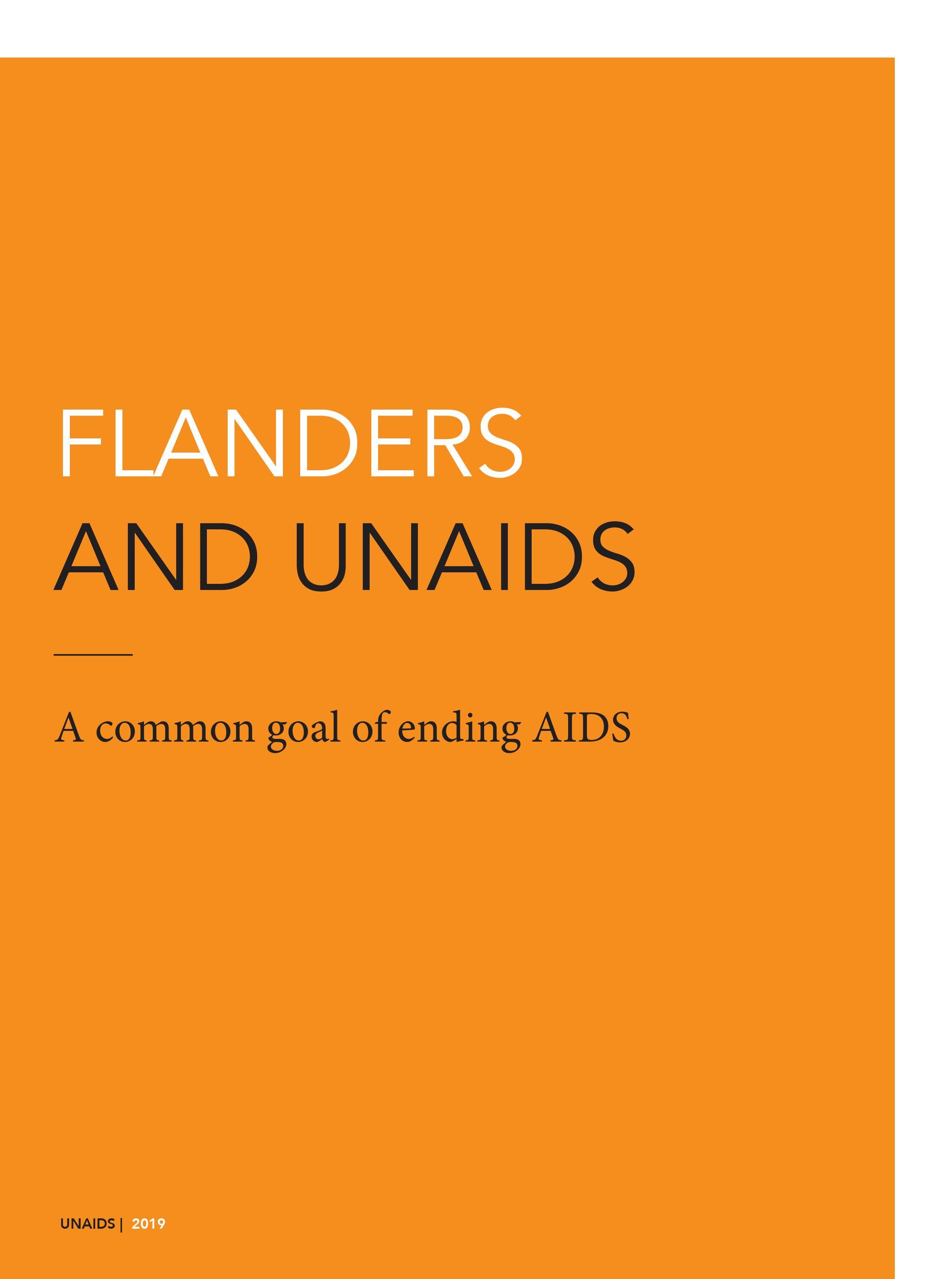 Flanders and UNAIDS