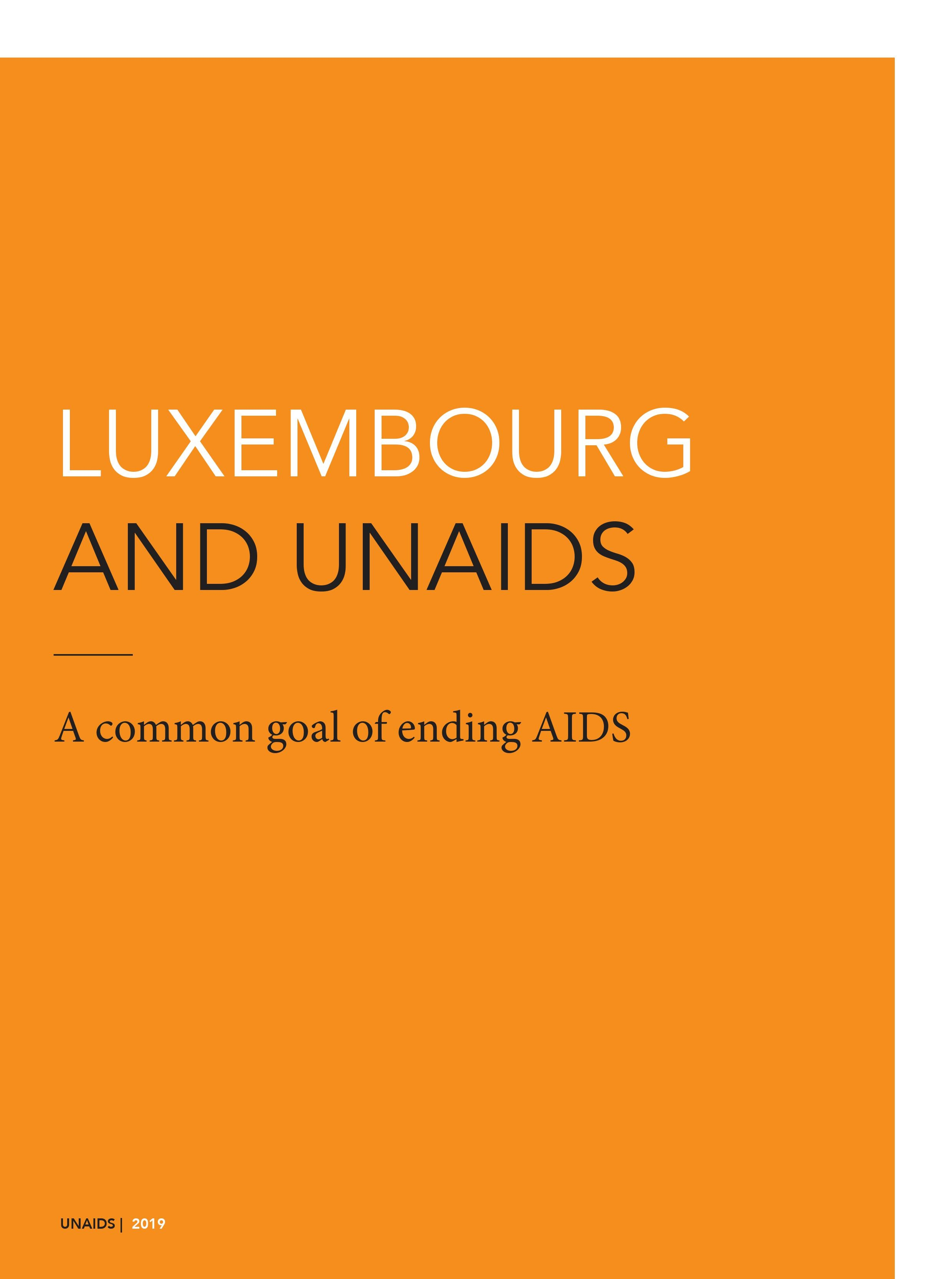 Luxembourg and UNAIDS