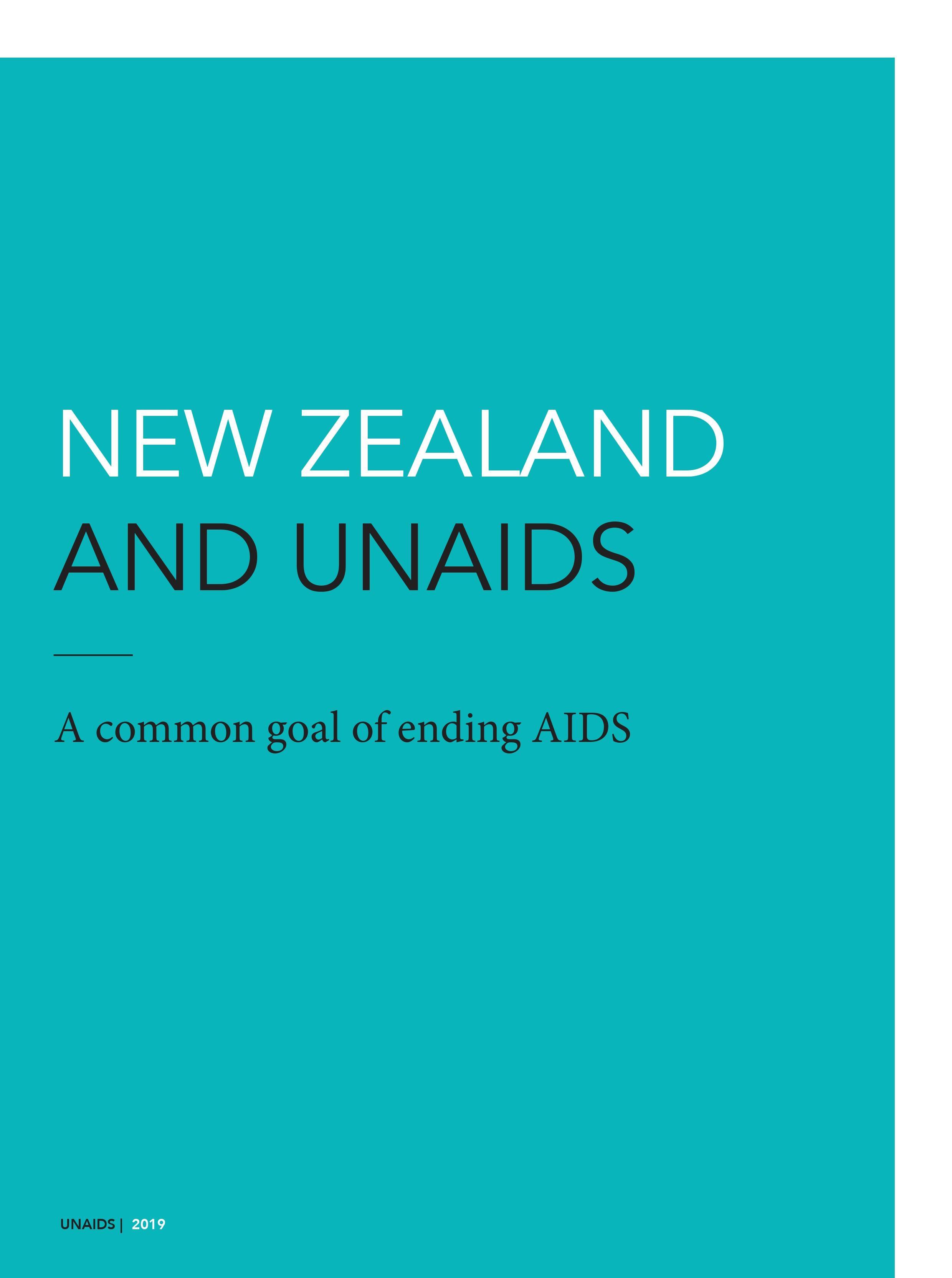 New Zealand and UNAIDS
