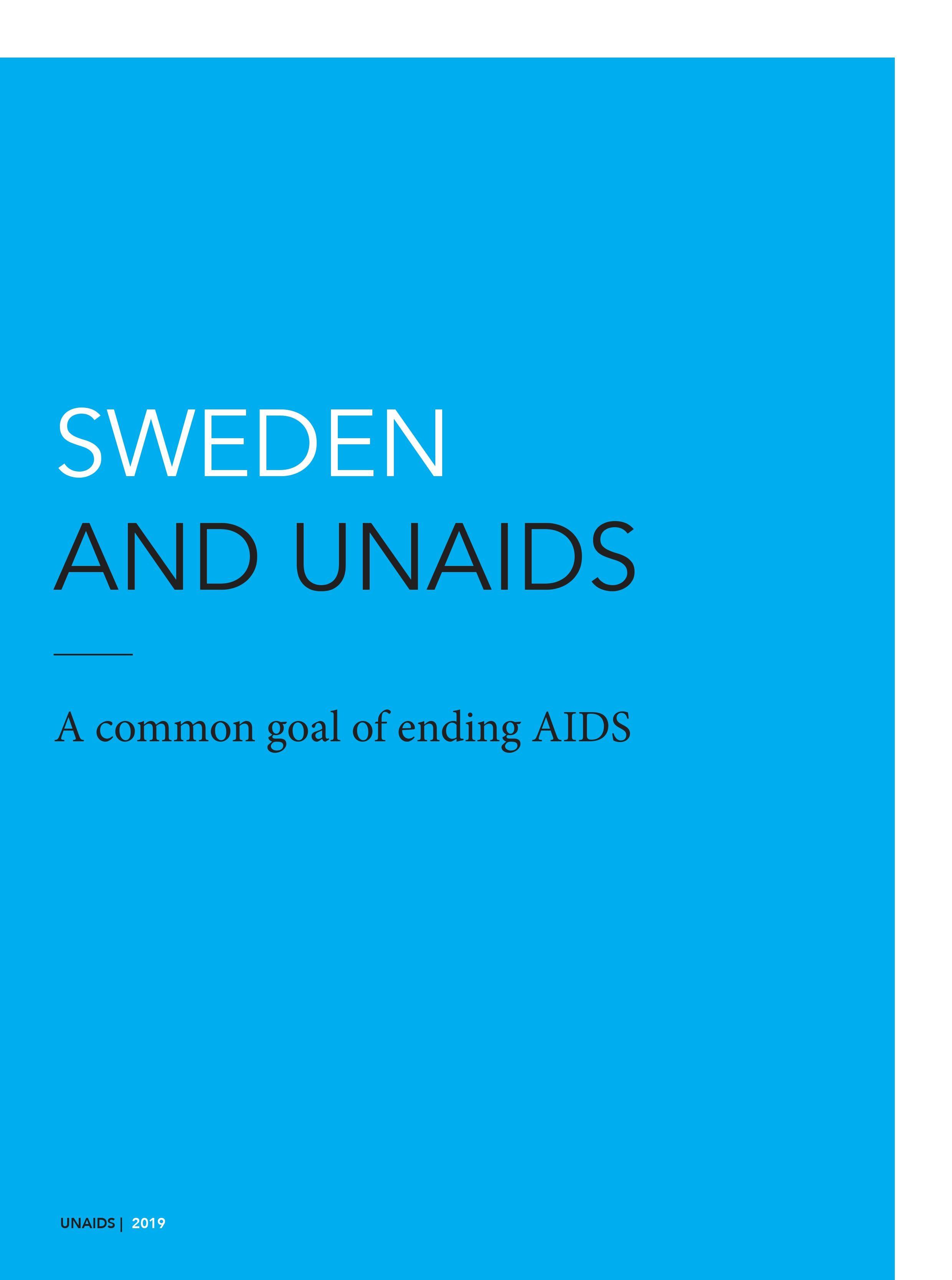 Sweden and UNAIDS