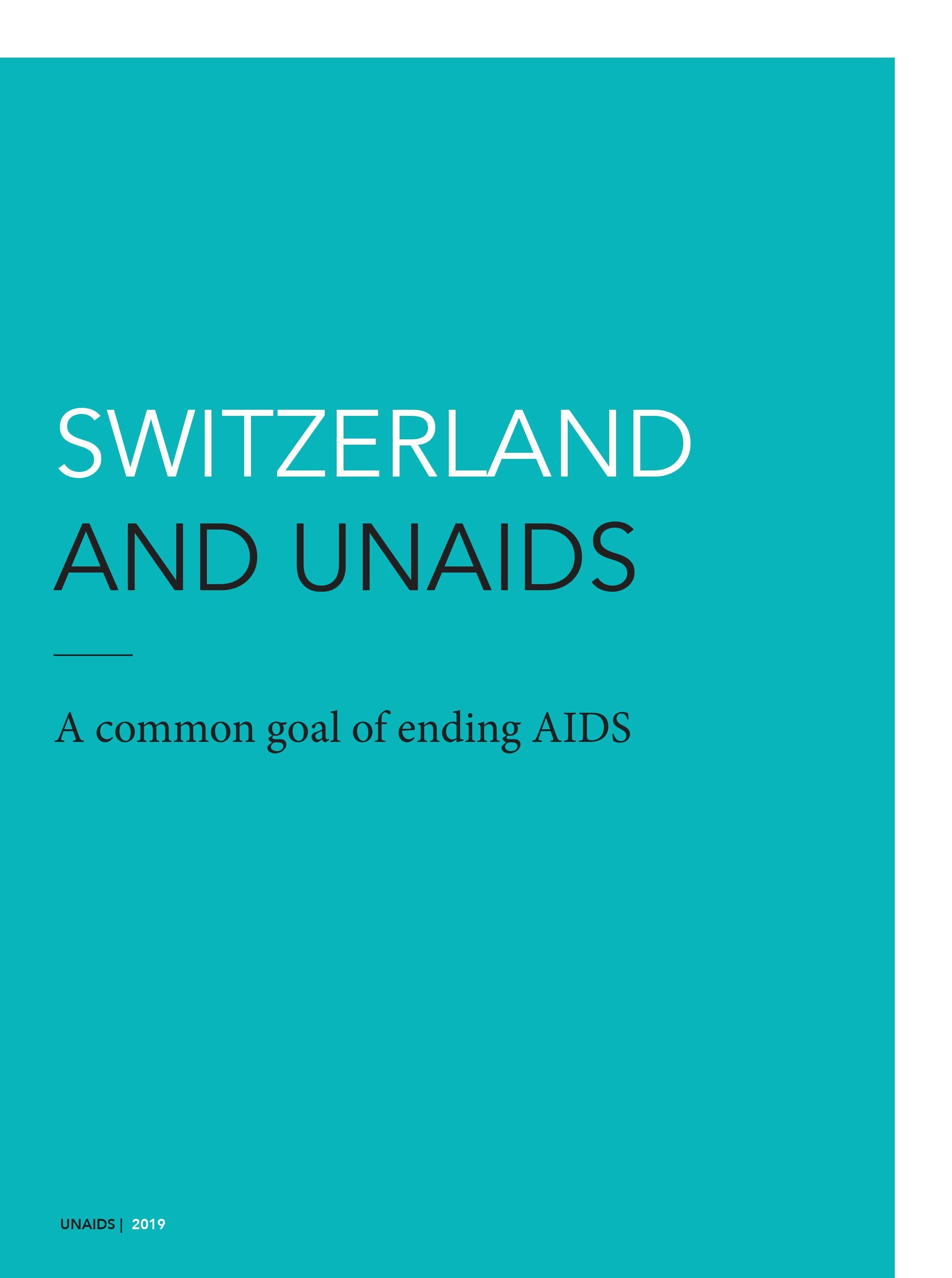 Switzerland and UNAIDS