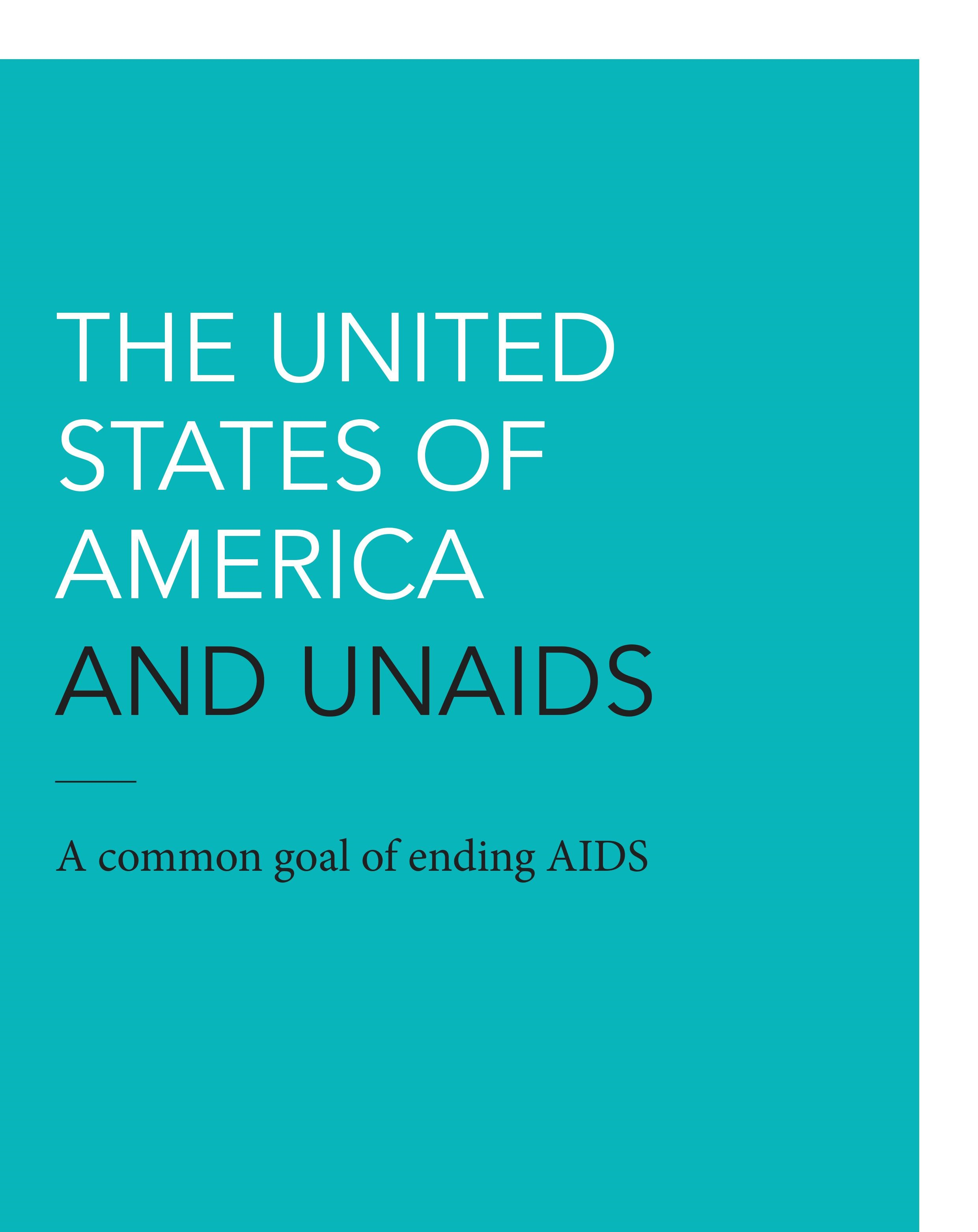 The USA and UNAIDS